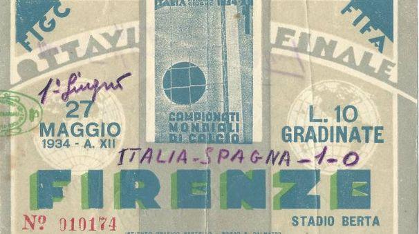 Il biglietto del 1934