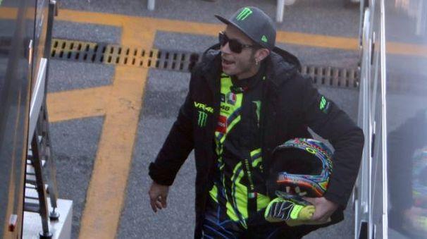 Valentino Rossi al Rally Monza Show