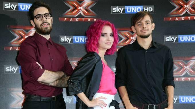 I Ros a X Factor (LaPresse)