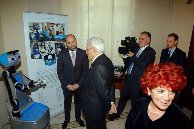 Il presidente della Repubblica, Sergio Mattarella a Pisa foto Valtriani/Teta