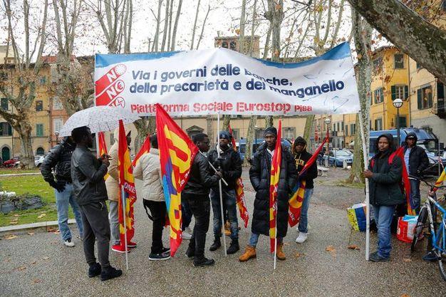 La protesta dei precari foto Valtriani/Teta