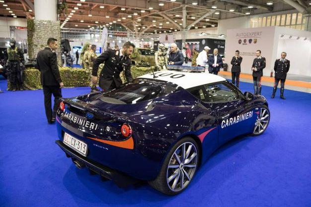 La fuoriserie dei carabinieri