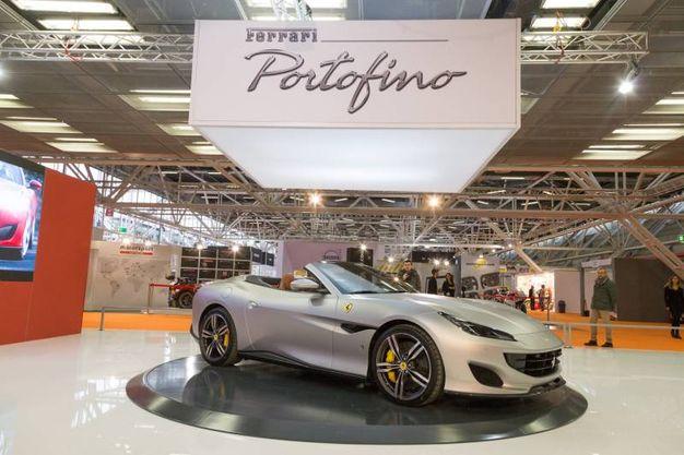 La prima esposizione ufficiale della Ferrari Portofino