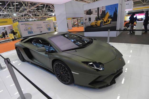 Una Lamborghini mimetica