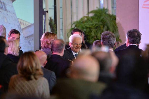 Il presidente della Repubblica, Sergio Mattarella (foto Castellani)