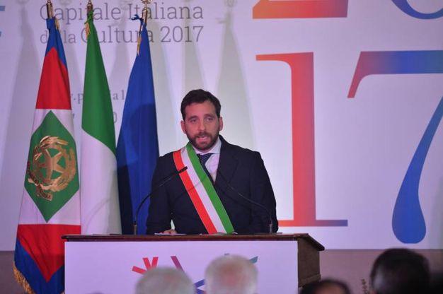 Il sindaco di Pistoia Tomasi (foto Castellani)