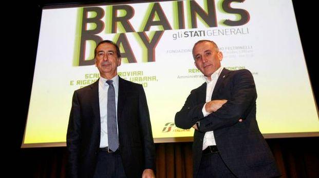 INSIEME Giuseppe Sala e Renato Mazzoncini