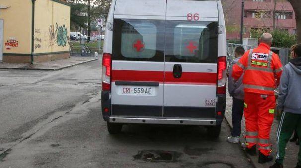 Rissa alla stazione di Cesena, i soccorsi (foto Ravaglia)