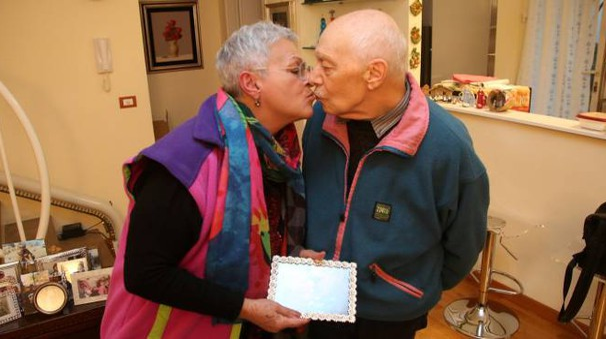 Alberto Lena e sua moglie Lorena Savastano, entrambi forlivesi, 82 anni lui, 72 lei