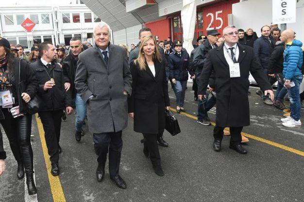 Il ministro Galletti e Marilena Pillati