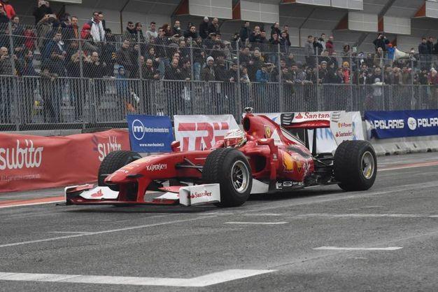 L'emozione dei grandi circuiti internazionali (foto Schicchi)