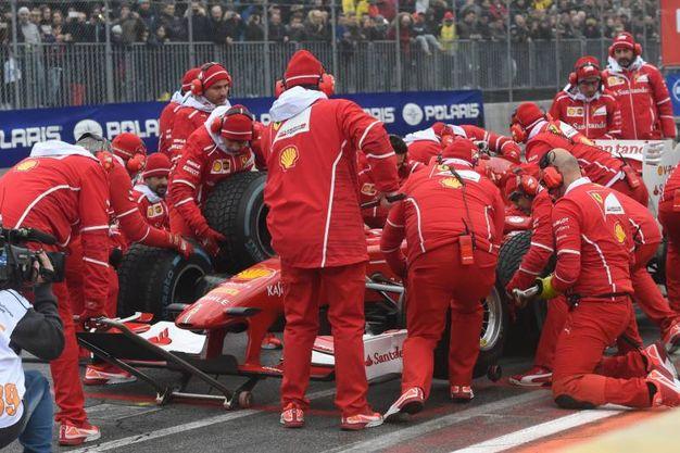 Come essere in Formula Uno (foto Schicchi)