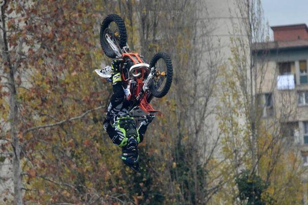 Esibizioni di motocross (foto Schicchi)