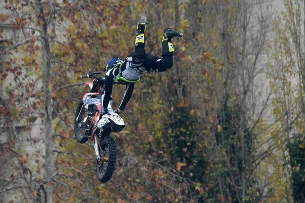 Spettacolo degli stuntmen (foto Schicchi)