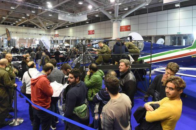 I visitatori al Motor Show (foto Schicchi)