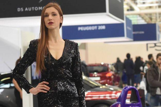 Sempre presenti le belle donne, da sempre binomio perfetto con i motori  (foto Schicchi)