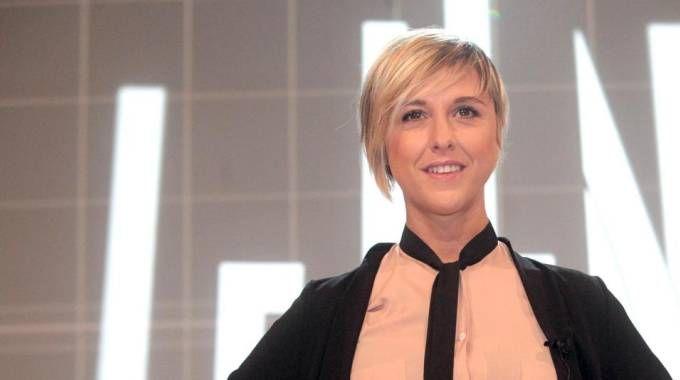 Nadia Toffa, conduttrice del programma Le Iene (foto Ansa)