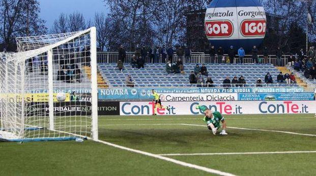 Novara-Empoli, il gol di Zajc (LaPresse)