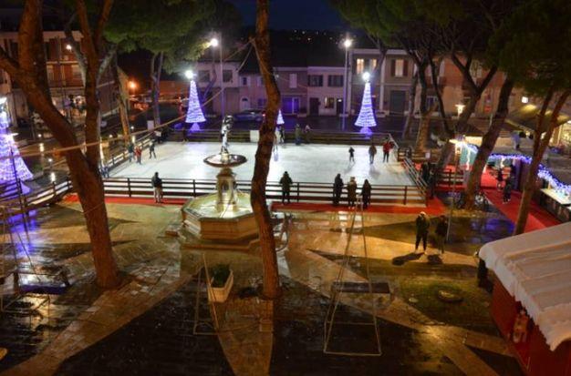 La pista di pattinaggio (foto: Bruno Baffoni - Giancarlo Pari)