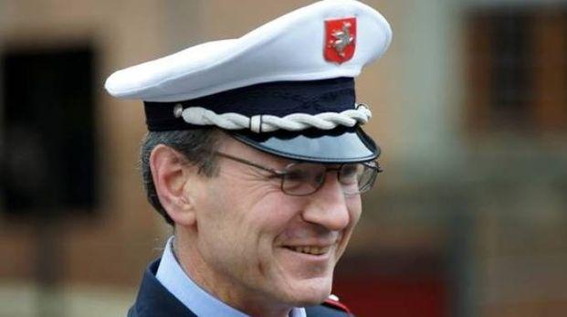 Il comandante di Cascina Paolo Migliorini