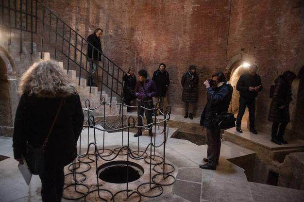 La cisterna fu costruita per alimentare la Fontana del Nettuno  (foto Schicchi)