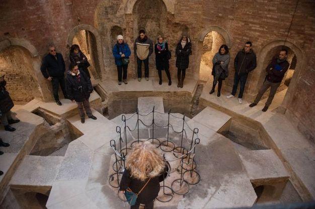 Bagni di Mario: la cisterna ottagonale (foto Schicchi)