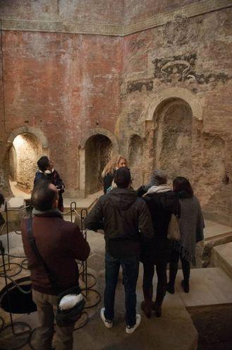 Bagni di Mario, i tanti visitatori (foto Schicchi)