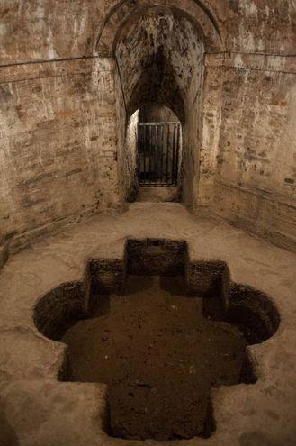 Questo importante complesso idraulico fu commissionato dal Vaticano (foto Schicchi)