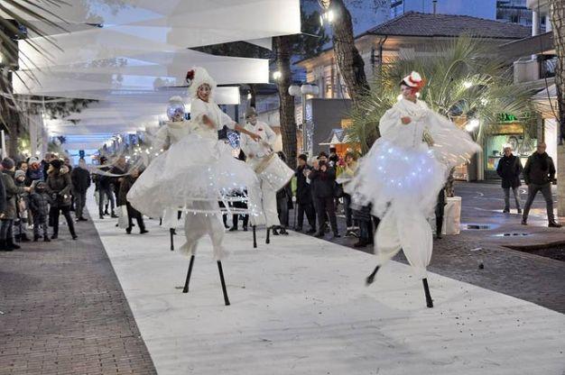 Natale a Riccione, l'inaugurazione di Riccione Ice Carpet (foto Nives Concolino)