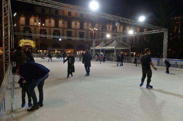 Una delle più attese attrazioni che animeranno le feste a Forlì (foto Frasca)