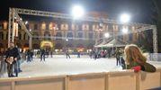 Natale a Forlì: l'apertura della pista di pattinaggio (foto Frasca)