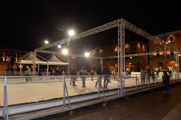 Le dimensioni della struttura sono di trenta metri per quindici (foto Frasca)