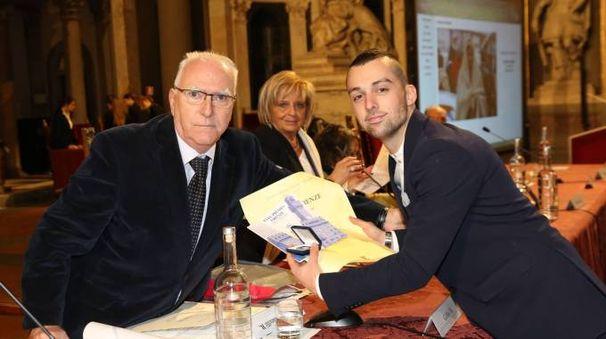 Tommaso Germogli con Marco Cellai
