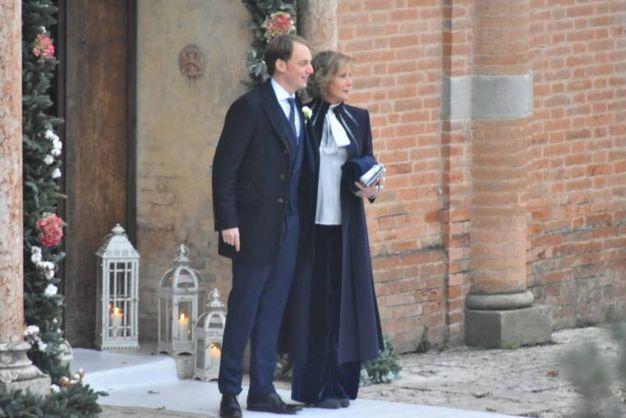 Michele Giraudo in trepidante attesa per la sua sposa (foto Artioli)