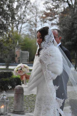 La sposa raggiante (foto Artioli)