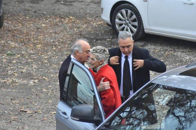 Antonio Giraudo accoglie Donna Allegra Caracciolo e Nicola Penta (foto Artioli)