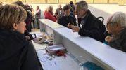 I delegati dell'assemblea dovevano essere 1.500 all'Atlantico di Roma, ma tanti sono rimasti fuori (foto Moretto)