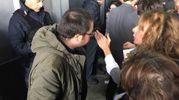 Delegati infuriati (foto Moretto)