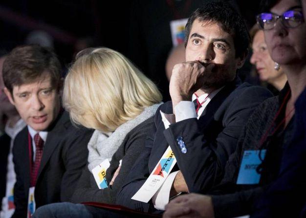Pippo Civati e Nicola Fratoianni (Ansa)