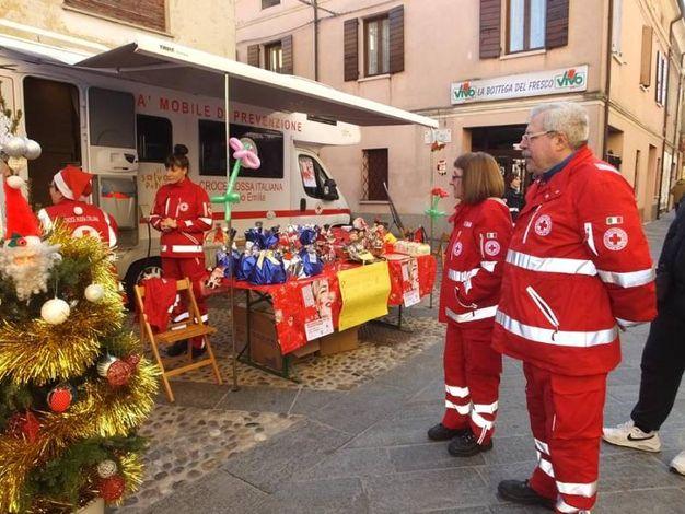 La festa natalizia a Luzzara