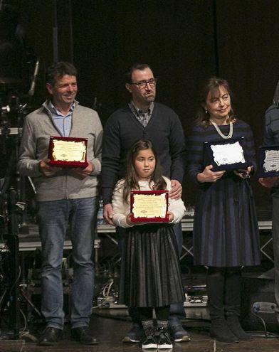 Premiazioni all'Agrishow