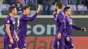 Fiorentina-Sassuolo: la gioia di Chiesa (Foto Germogli)