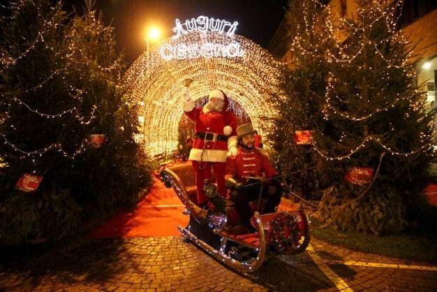 Cesena si prepara a festeggiare il Natale (foto Ravaglia)