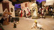 I personaggi raffigurano antichi mestieri e scene di vita quotidiana (foto Ravaglia)