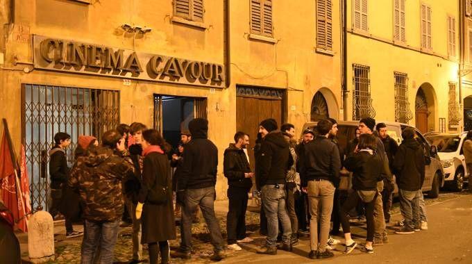 L'occupazione in corso Cavour