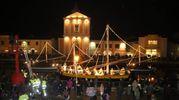 Il presepe della Marineria a Cesenatico (foto Ravaglia)