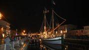 Ritorna il presepe della Marineria a Cesenatico (foto Ravaglia)
