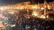 La magica atmosfera nel porto canale (foto Ravaglia)