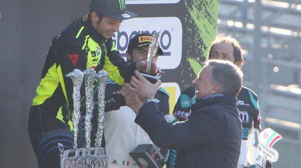 Valentino Rossi vince il Rally di Monza