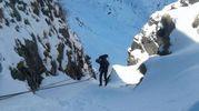 Esercitazione per gli uomini del Soccorso alpino